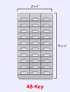 desi telephone labels esi 48 key feature phone dss labels. Black Bedroom Furniture Sets. Home Design Ideas